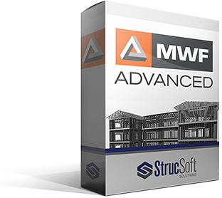 MWF Advanced automatically sizes, engineers and provides analysis for cold formed steel and wood structures within the Revit environment