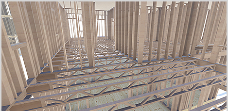 Automatically frame floors, ceilings and rafter systems in Revit with MWF Pro Floor